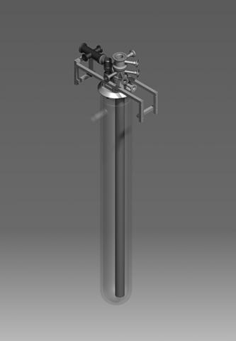 KF Glass Cryostat